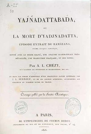 Antoine-Léonard de Chézy